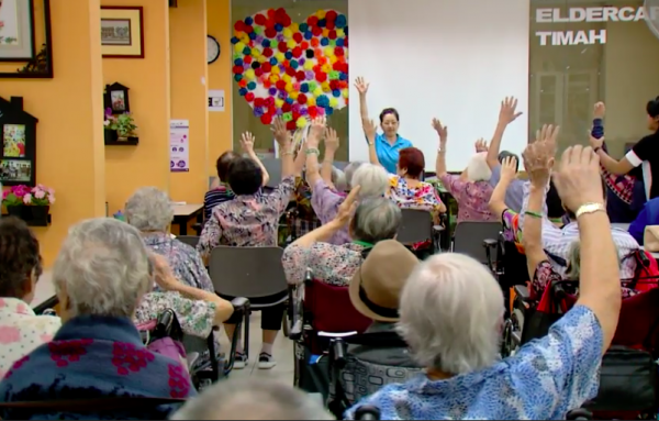 Ageing Well- Maintenance Day Care Exercise