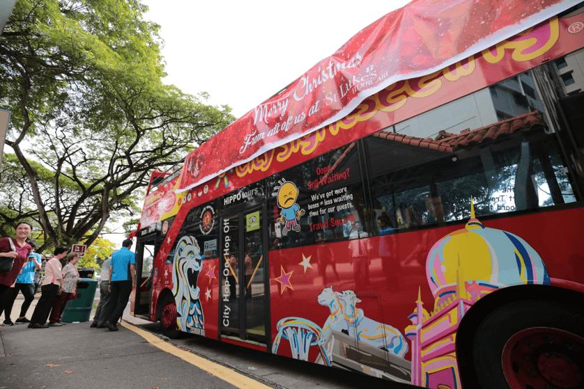 City Sightseeing on Hippo Bus