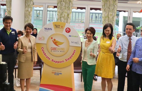 Launch of Caregiving @ South West at Ayer Rajah Centre