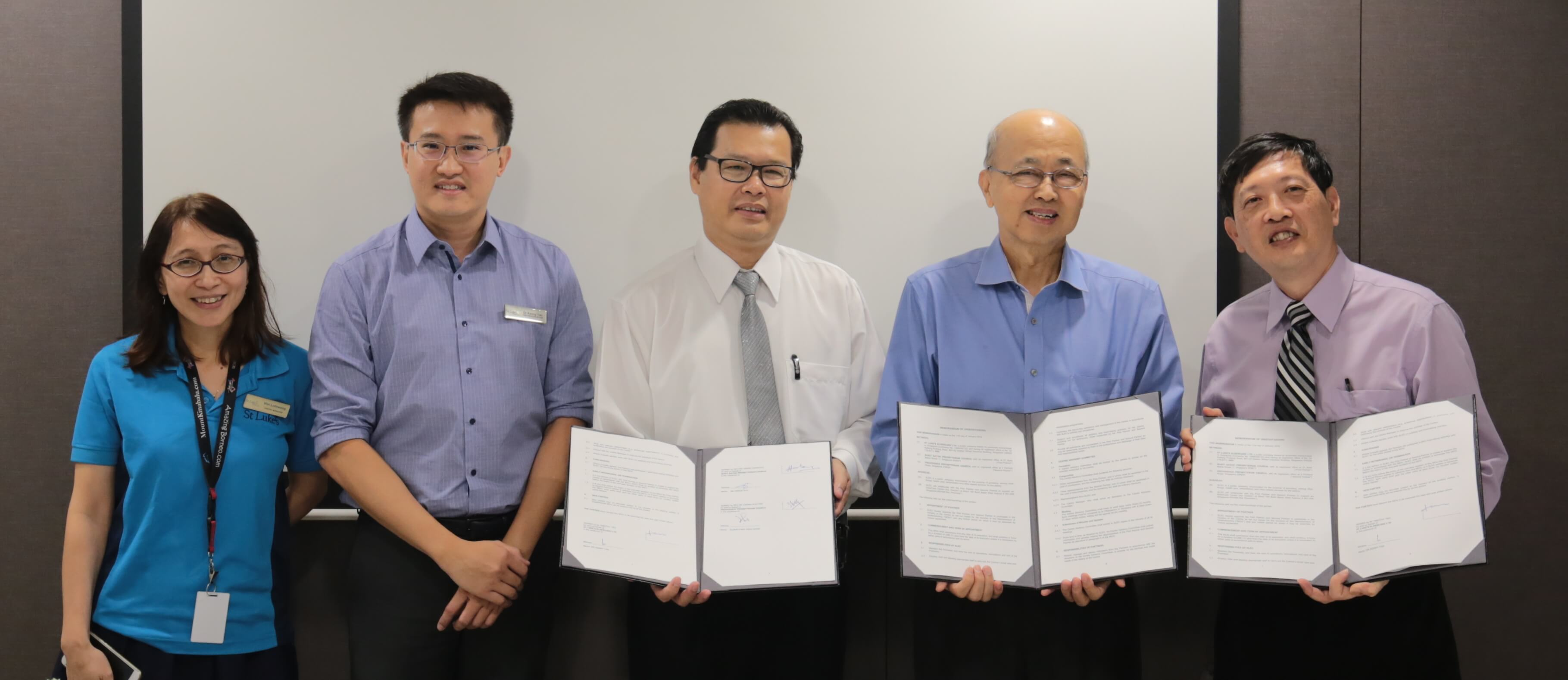 SLEC Mou Signing with Church partners