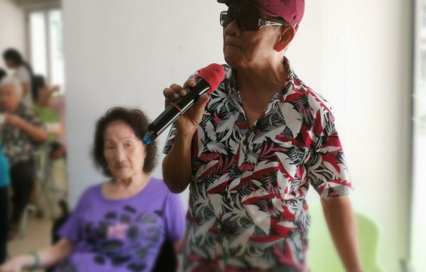 To Give is To Receive - Mr John Wee, a rehab elder turned volunteer