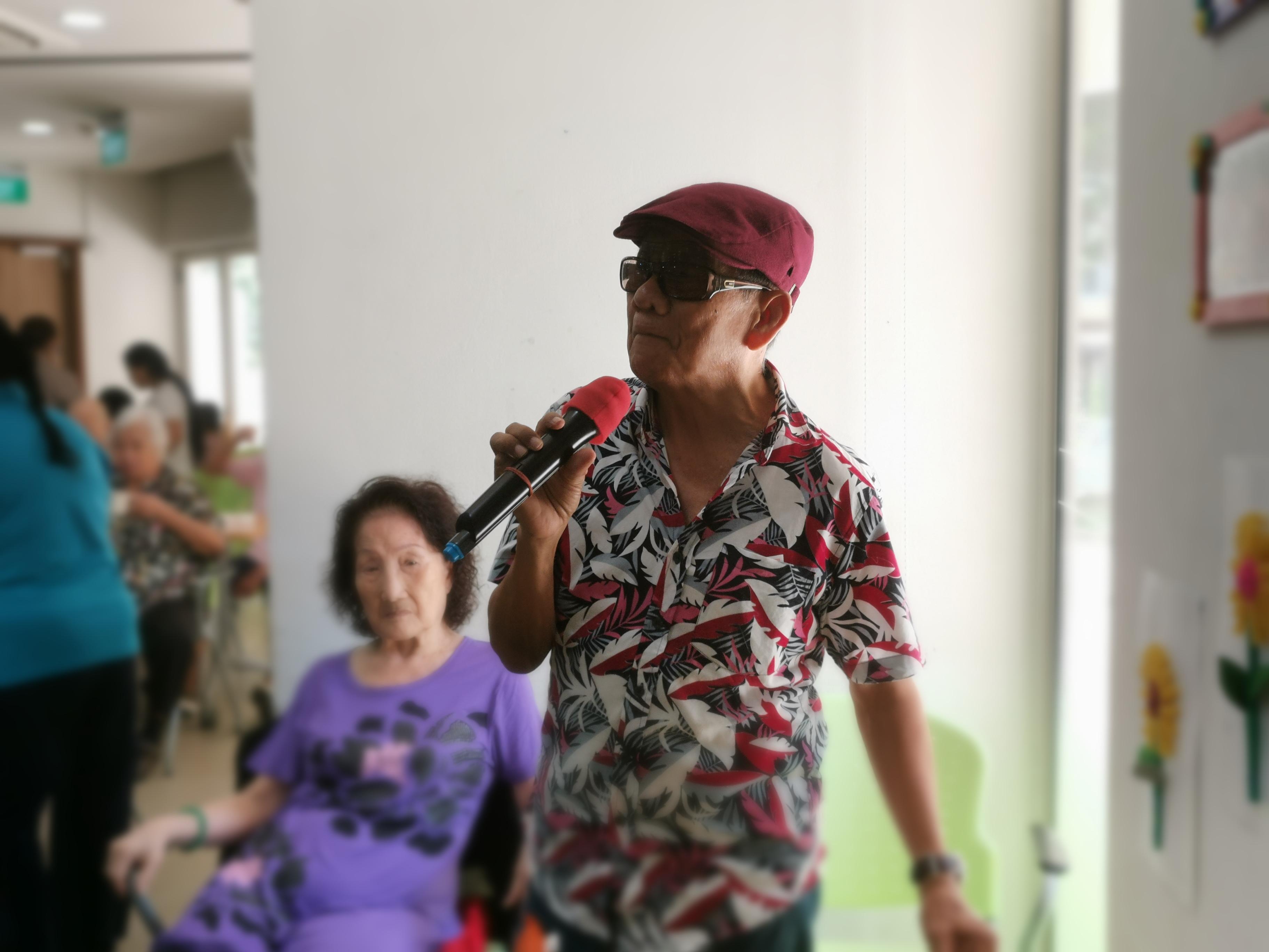 To Give is To Receive - Mr John Wee, a rehab elder turned volunteer